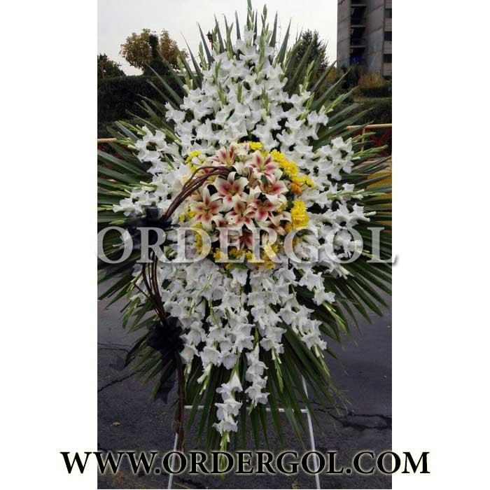 تاج گل مراسم عزاداری