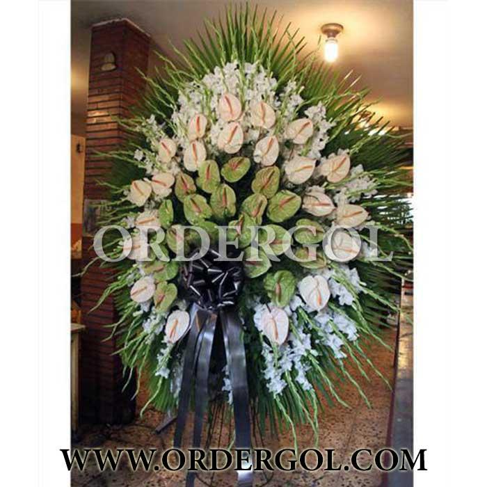 تاج گل ارزان یک طبقه