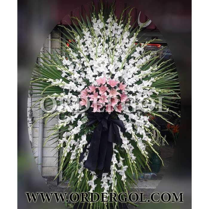 تاج گل برای مراسم ختم